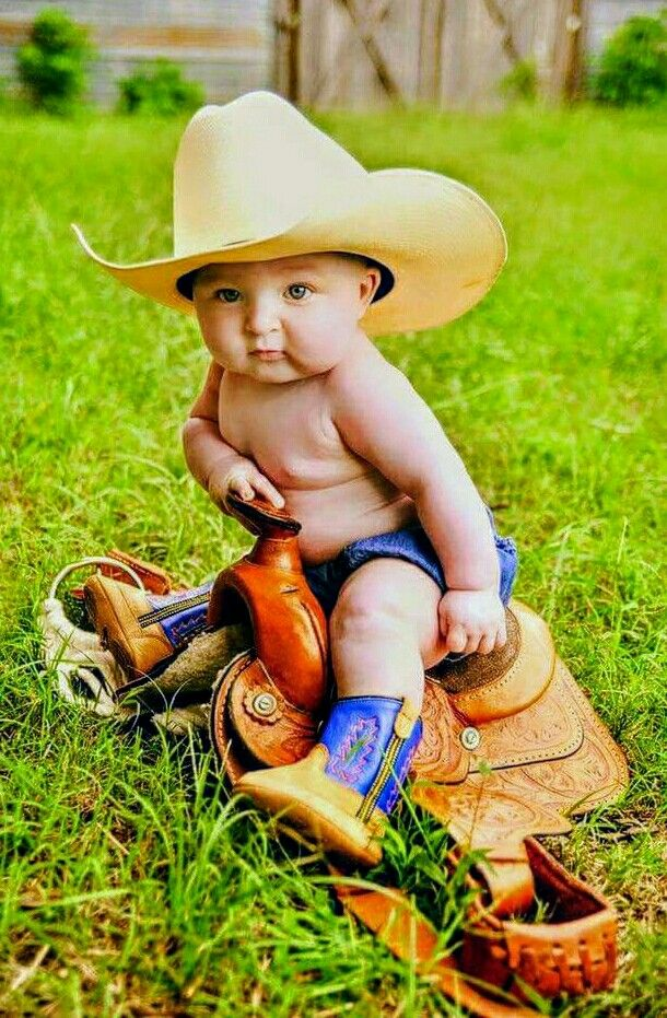 I'm not big into cowboy stuff but this IS adorable!!!!