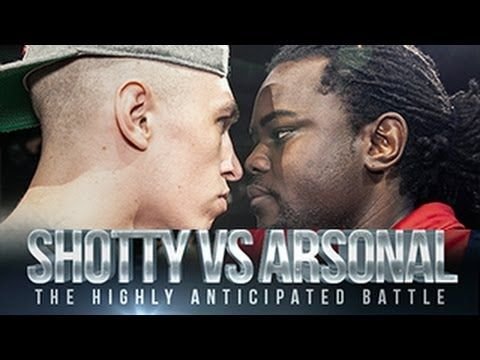 ‪DON'T FLOP - ‬Rap Battle - Shotty Horroh Vs Arsonal