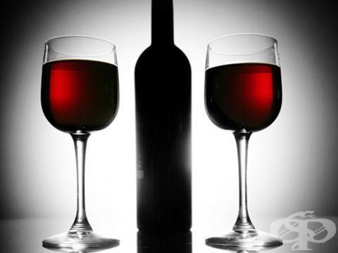 Виното - превенция срещу астма - изображение