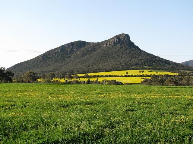 Taken of Mt Abrupt from a roadside lookout near Dunkeld, Victoria