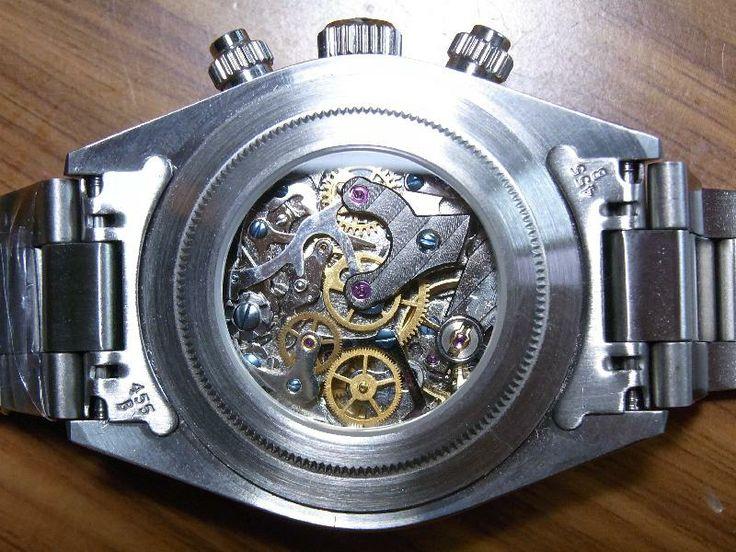 Alpha Watch - Display case back for Paul Newman Panda