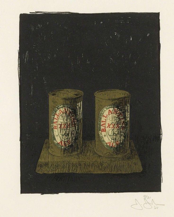 Jasper Johns, Ale Cans (ULAE 20)