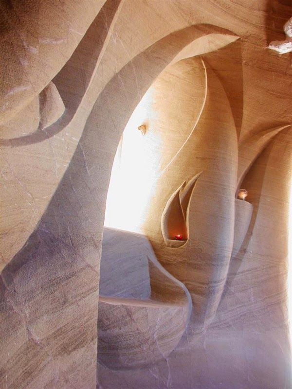 Hand Crafted The Sandstone Cathedrals of Ra Paulette, New Mexico United States