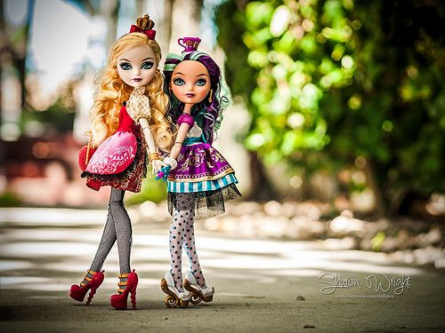 Ever After High Dolls - Apple and Mattie