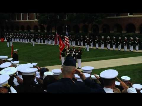 Marine Corps Ceremony for Sgt. Dakota Meyer, Medal of Honor Recipient