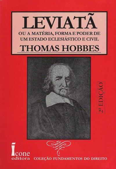 Leviatã ou a Materia, Thomas Hobbes, . Compre livros na Fnac.pt