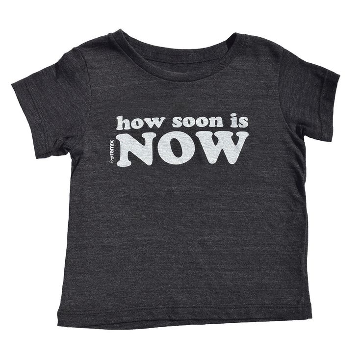 how soon is now tee
