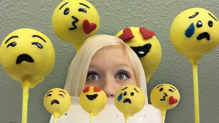 25 Best Ideas About Emoji Cake Pops On Pinterest Emoji