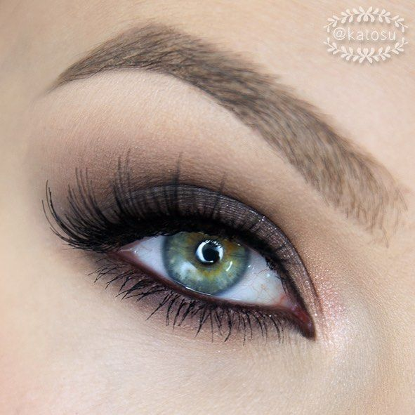 ▪️Simple smoky eye look - close up from previous post 👌 I used: @toofaced…