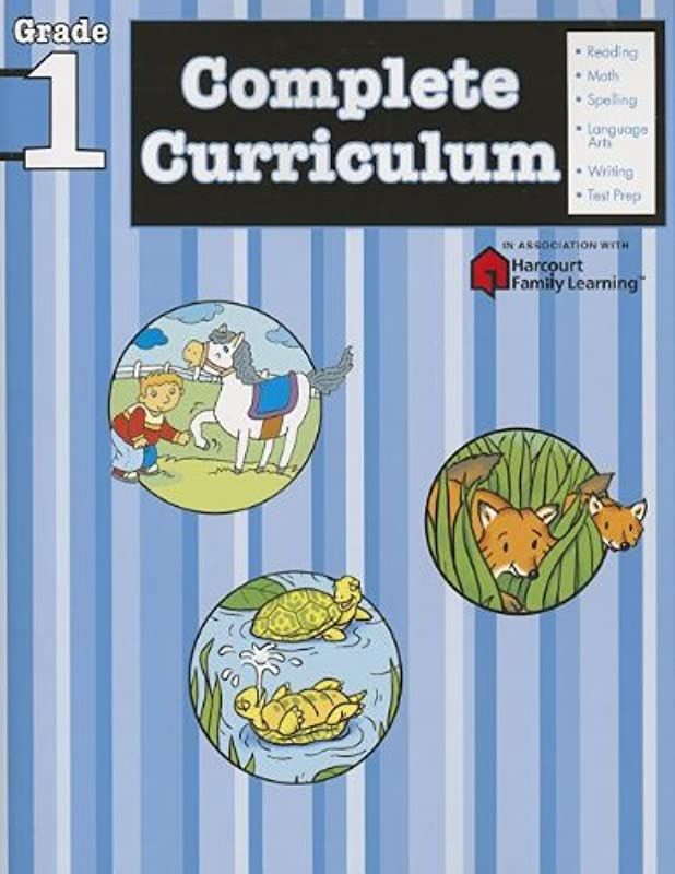 Free Read Complete Curriculum Grade 1 Flash Kids Harcourt Family Learning By Flash Kids Editors