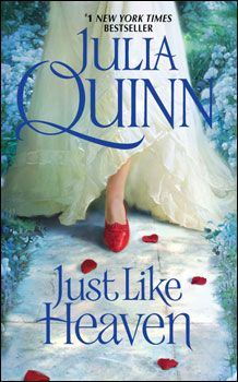 Bebe's Review of Julia Quinn's novel, Just Like Heaven  http://www.readinguntilifallasleep.com/just-like-heaven-by-julia-quinn/