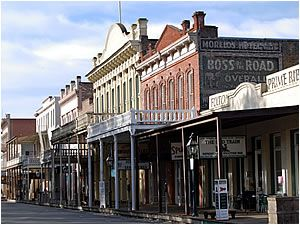 Historic Old Sacramento, California
