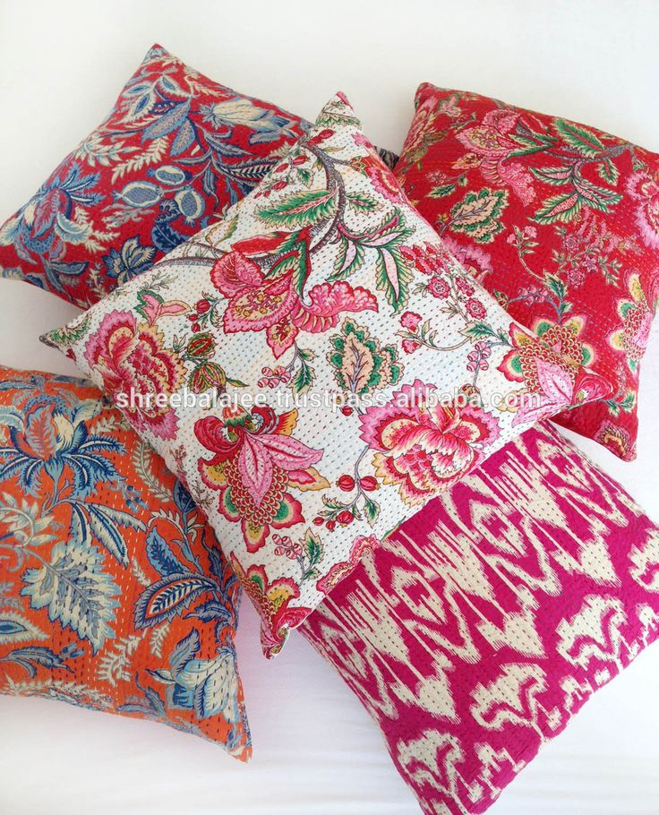 Comfortable Outdoor Cushion Covers For Outstanding Exterior Decor: Lovable  Red Colorful Pattern Of Winsome Replacement