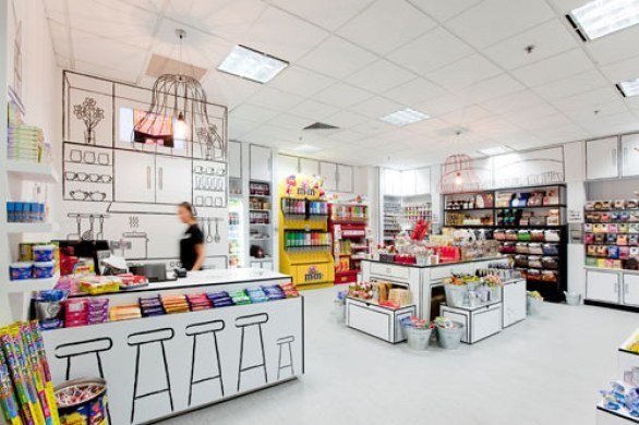 Candy Room - Melbourne: Candy Store, Interior, Candyroom, Retail Design, Red Design, Design Group, Rooms
