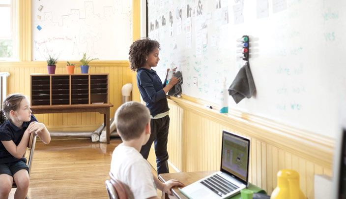 Paint your Own Classroom Whiteboard | IdeaPaint    Turn any smooth surface into a whiteboard