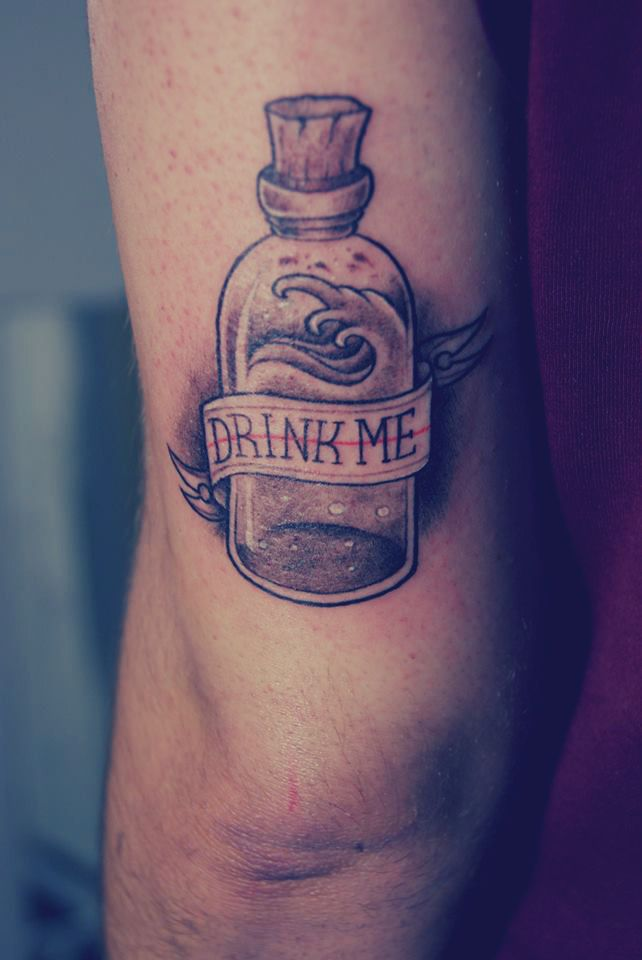 alice in wonderland tattoo tumblr