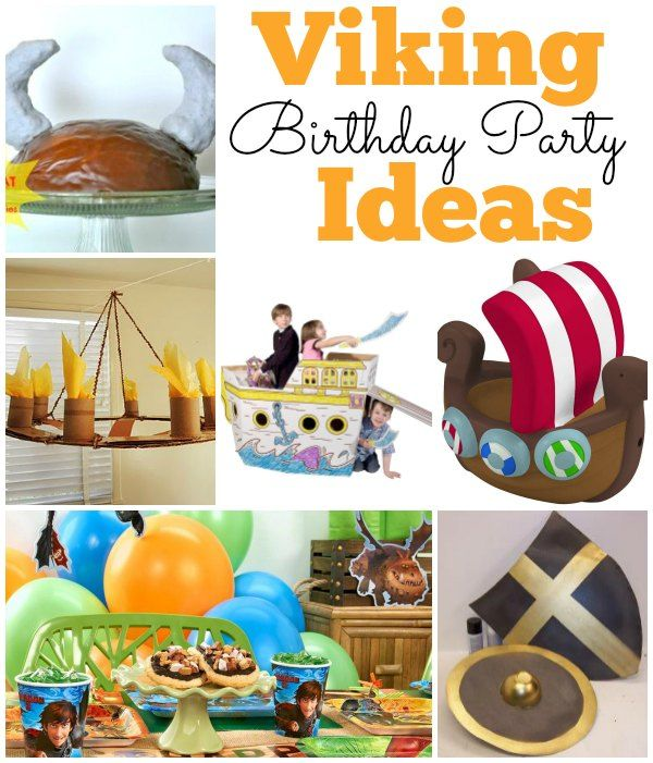 Looking for some great Viking birthday party ideas? Grab your helmet and sword and stop in to make your Viking party a smash!