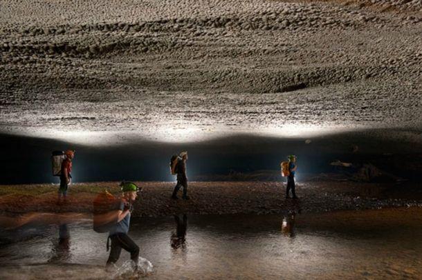 Han Son Doong barlang / cave Forrás/source: sondoongcave.org - Carsten Peter