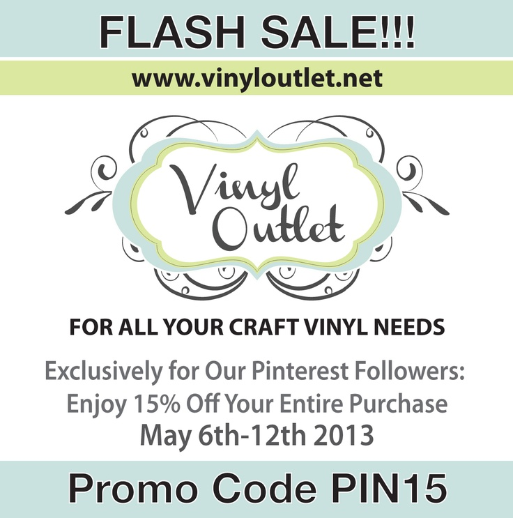 Coupon vinyl outlet