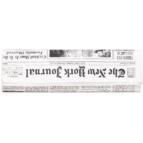 the journal newspaper clutch