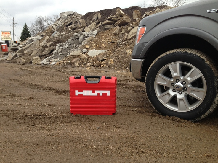 A day with the Hilti TE 30 - A36