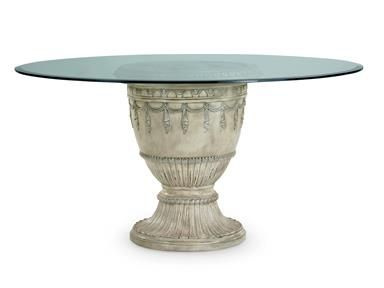 Shop For Schnadig International Round Pedestal Dn Tbl Pment And Other Dining Room Tables At Kalins Furniture Store In Sarasota FL