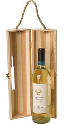 Wooden Wine Gift Box #corporategifts #brandability