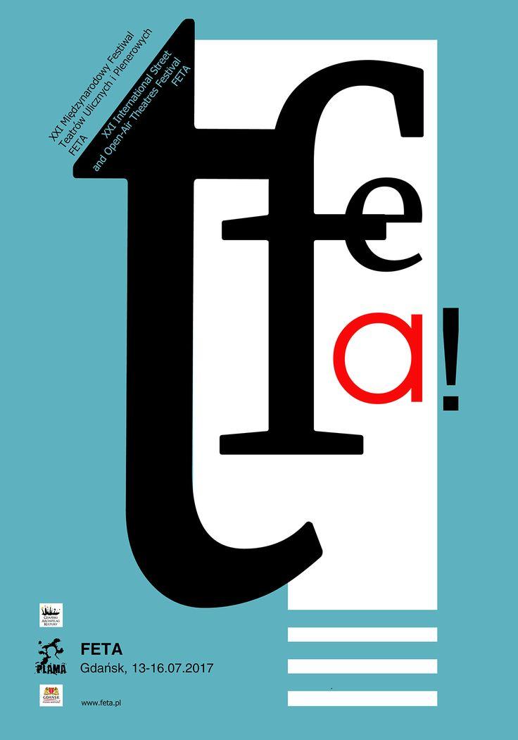 FETA International Street Theatre Fest. Poster project. on Behance