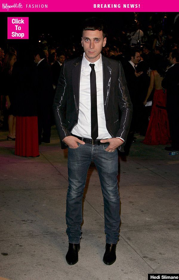 Hedi Slimane Leaves Saint Laurent: Will Anthony Vaccarello Replace Him?