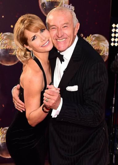 Darcy Bussell and Len Goodman