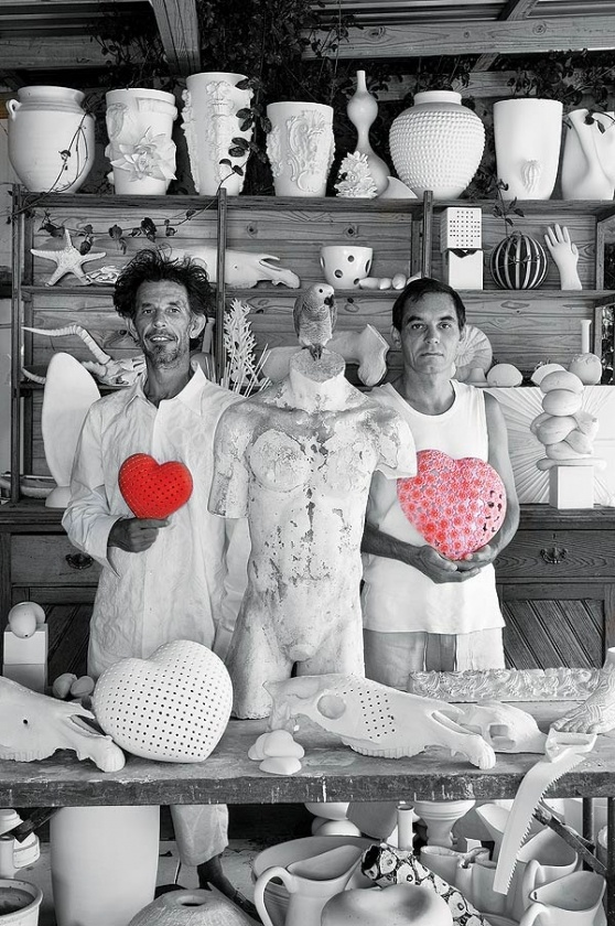 Gerhard Swart and Anthony Harris of Ceramic Matters