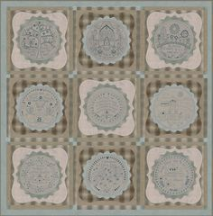 Simply Blessed Set Japanese -Rosalie Quinlan - BOM Quilt PatternSECONDARY_SECTION$195.00: Fabric Patch: Patchwork Quilting fabrics, Moda fab...