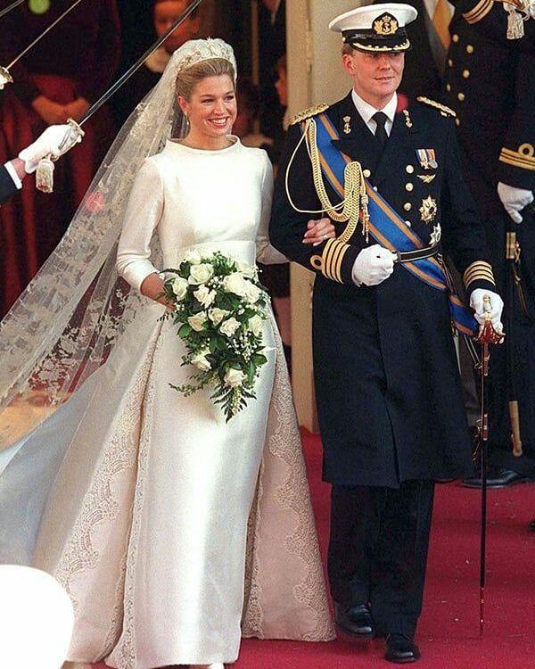 Wedding Dresses 1 Queen Maxima 2 Mabel 3 Princess Laurentien 4 Princess Beatrix 5 Princess Margriet Royal Wedding Dress Royal Brides Royal Wedding Gowns