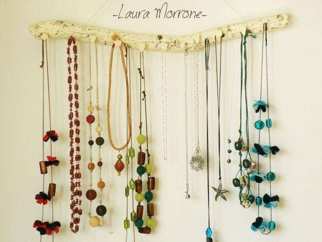 Oltre 25 fantastiche idee su appendi collane su pinterest - Porta gioielli ikea ...