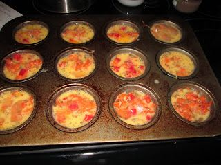Egg Muffins - perfectly healthy and delicious as a snack or eat a couple for a meal. You can save time cooking and eat them all week long. Yummm!!! #Paleo, #Gluten-free, #Whole30