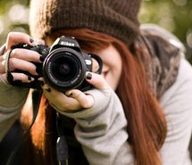 Inspiring picture camera, girl, hair, nikon, photography. Resolution: 500x332. Find the picture to your taste!