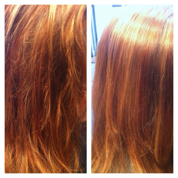 L'Oreal Professionnel steam pod treatment here at www.dollhousehair.ca