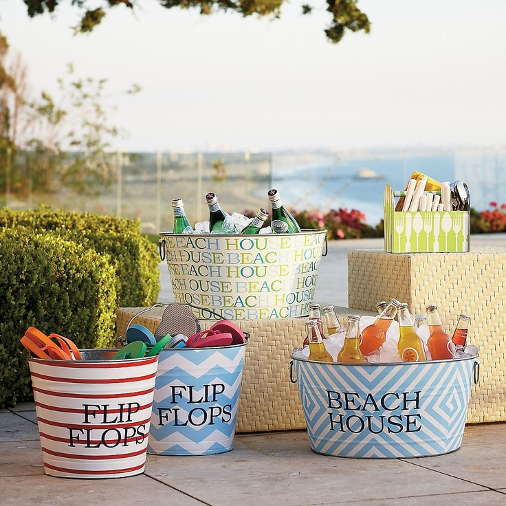 Summer Bucket: At The Beaches, Parties Tubs, Decorationsparti Ideas, Lakes Houses, Summer Parties, Parties Ideas, Pools Parties, Beaches Houses, Home Parties