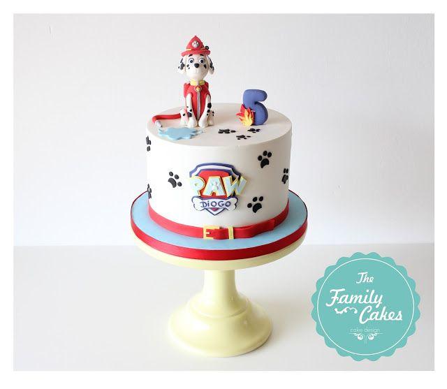 Paw Patrol - Marshall - Cake | Bolo Patrulha Pata