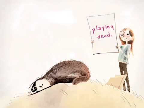 SPARKY! by Jenny Offill  | Book Trailer (Children's Picture Book)