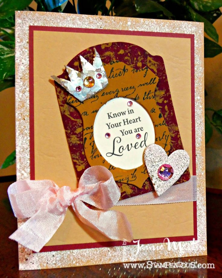 #cre8time to Stamp This!: Fun With #Stampendous and #DecoArt