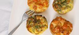 Groenten muffins