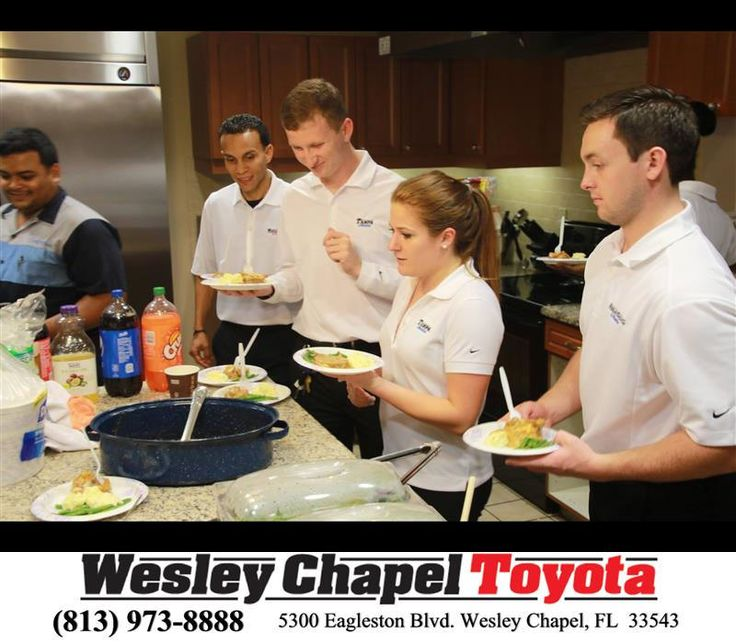 https://flic.kr/p/JaLrkN | A team from our 3 stores, Wesley Chapel Toyota, Wesley Chapel Honda and Tampa Honda enjoying our time cooking a meal for the families staying at the Ronald McDonald House Charities of Tampa Bay, Inc. | deliverymaxx.com/DealerReviews.aspx?DealerCode=NHPF