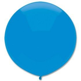 """Let's Party With Balloons - 17"""" Round Outdoor Latex Balloon Bright Blue, $5.00 (http://www.letspartywithballoons.com.au/17-round-outdoor-latex-balloon-bright-blue/)"""