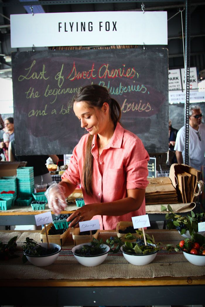 Every summer the New Amsterdam Market pops up at the old Fulton Fish Market under the Brooklyn Bridge. Held every Sunday, the market hosts a wide variety of local vendors.