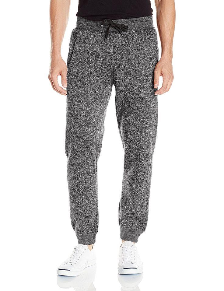 Southpole Men's Basic Fleece Marled Jogger Pant: Amazon.ca: Clothing & Accessories