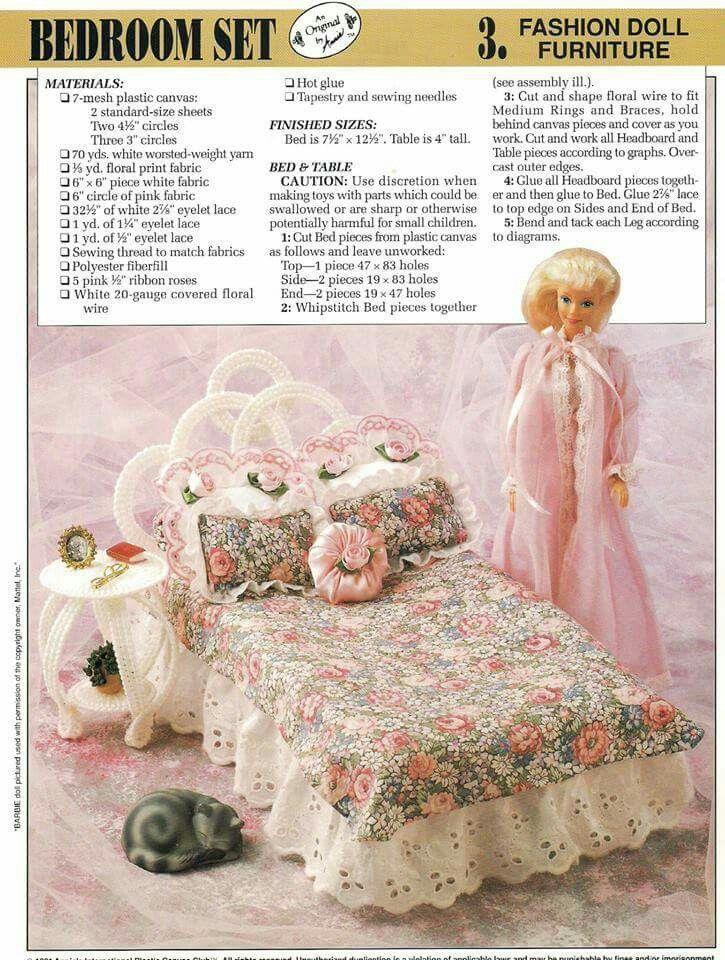 Barbie bedroom set 2