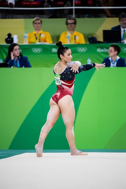 2016 Rio Olympic Games Women's Team Final-- Aly Raisman