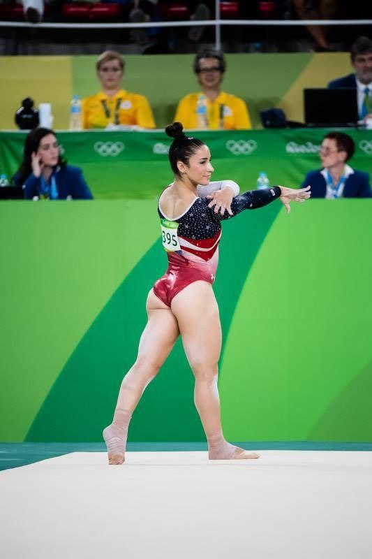 2016 Rio Olympic Games Women's Team Final-- Aly Raisman                                                                                                                                                                                 More