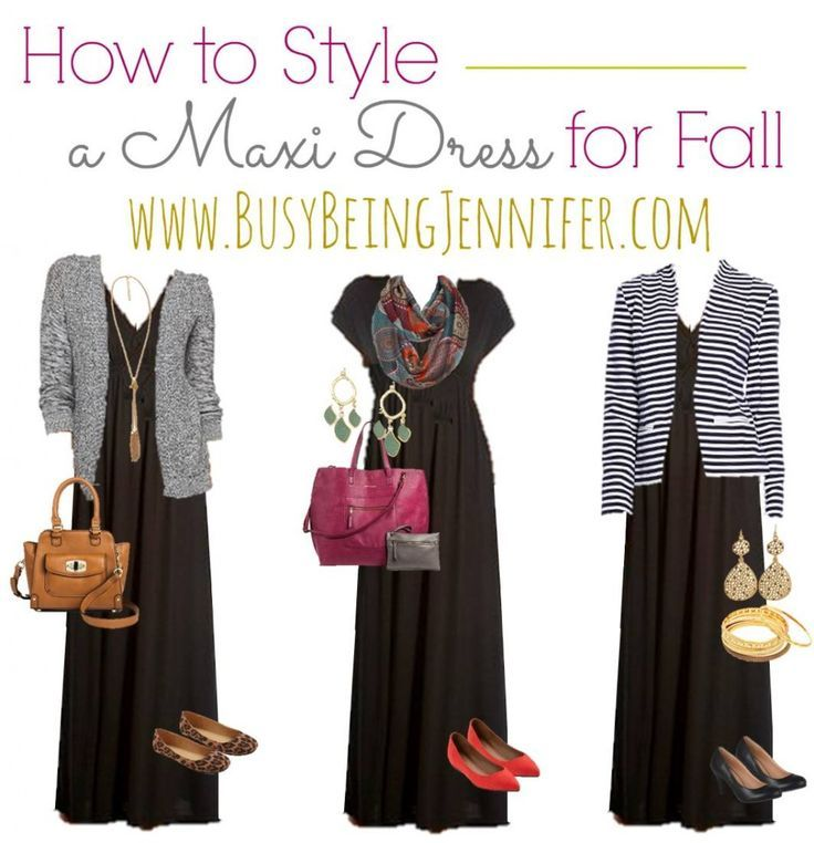 Wear 3 Ways - Fall Maxi Dress Fashion from BusyBeingJennifer.com